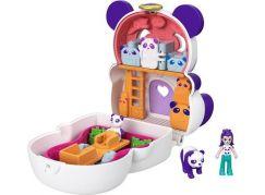 Mattel Polly Pocket pudřenka s překvapením Panda