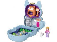 Mattel Polly Pocket pudřenka s překvapením Polární liška