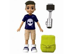Mattel Polly Pocket sportovní panenka Selfie Stick Nicolas