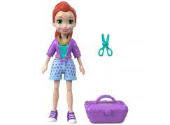 Mattel Polly Pocket sportovní panenka Totes cute Lila