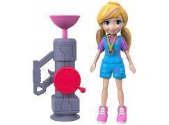 Mattel Polly Pocket sportovní panenka Zip N Blast Polly