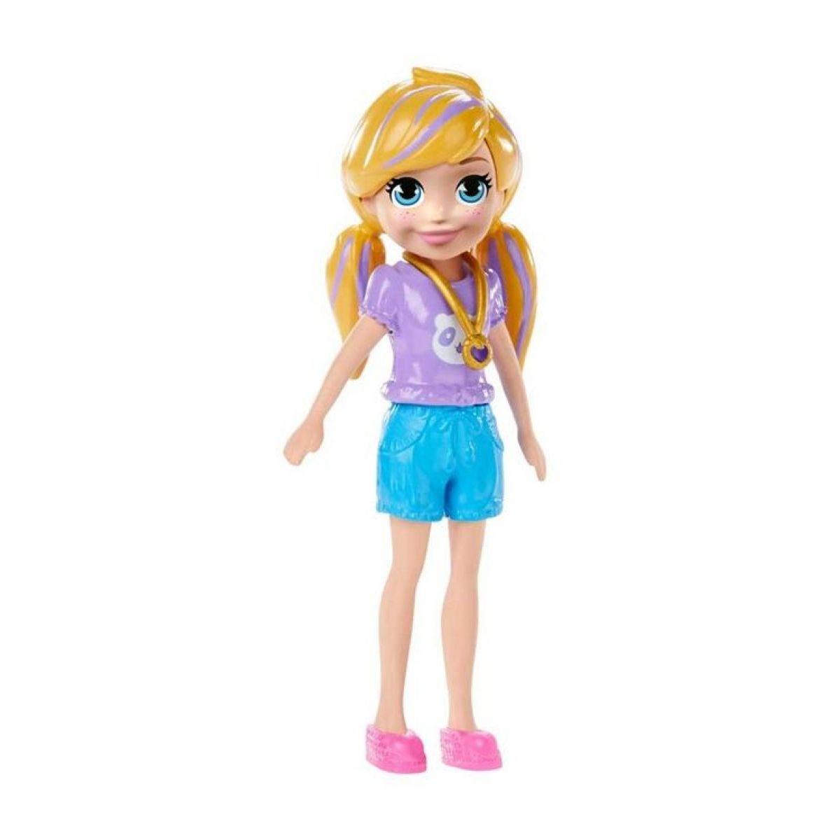 Mattel Polly Pocket stylová panenka Polly kraťasy 23