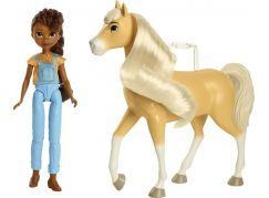 Mattel Spirit panenka a kůň Pru a klisna Chica Linda
