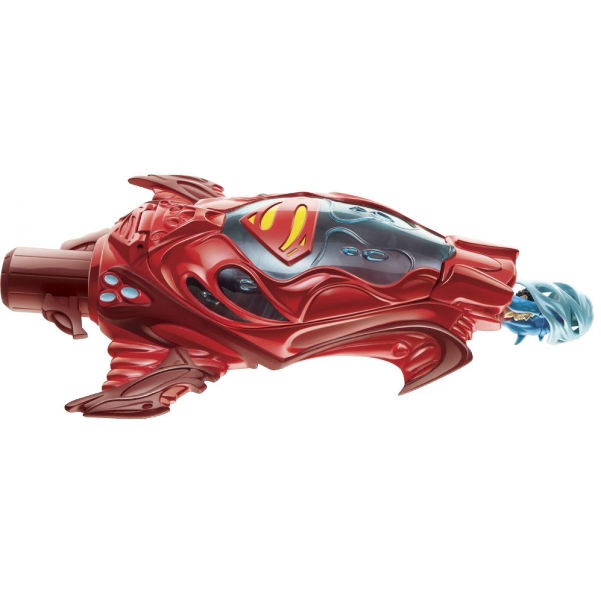 Mattel Superman Odpalovací rampa - Červená