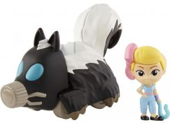 Mattel Toy story 4 minifigurka s vozidlem Bo Peep a Skunkmobile