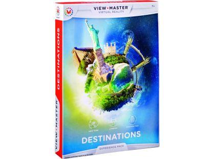 Mattel View-Master zážitkový balíček Zajímavá místa