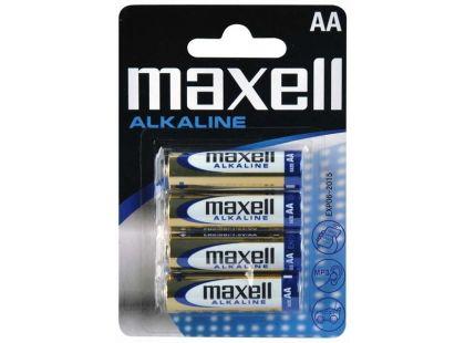 Maxell Alkalická baterie AA LR6 4ks
