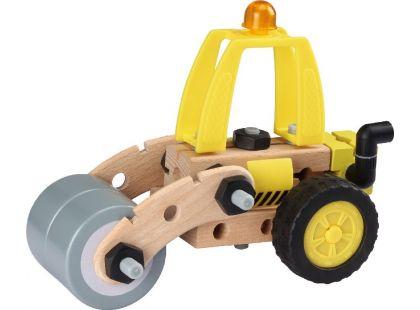 Maxim Dřevěná stavebnice silniční válec