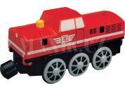 Maxim Elektrická lokomotiva červená 50853