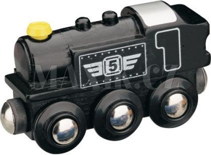 Maxim Parní lokomotiva černá