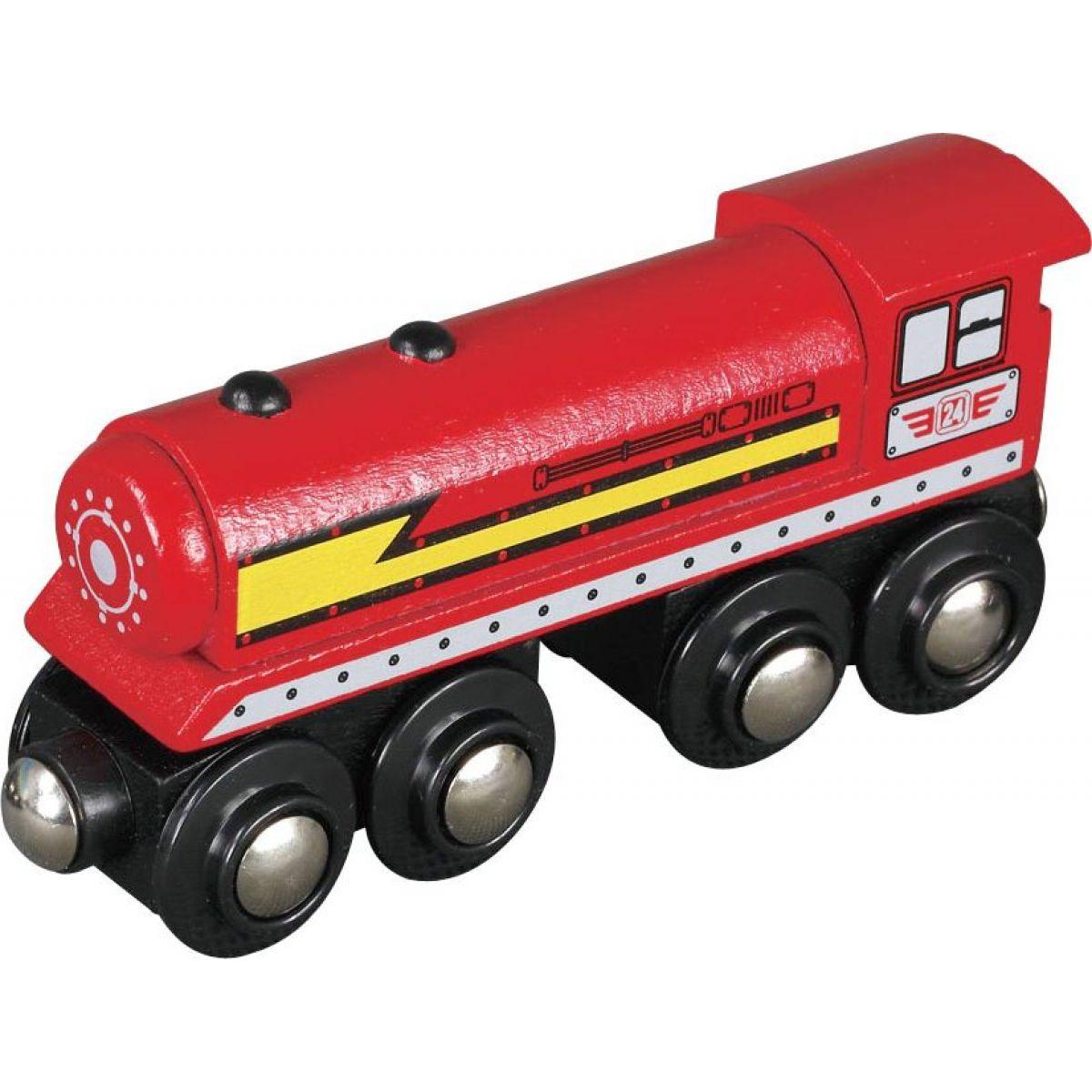 Maxim Parní lokomotiva červená 50502