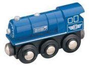 Maxim Parní lokomotiva modrá