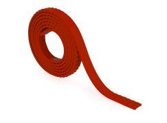 Mayka stavebnicová páska střední 2m červená