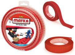 Mayka stavebnicová páska velká 2m červená