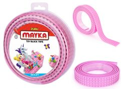 Mayka stavebnicová páska velká 2m růžová