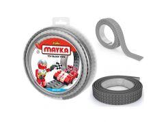 Mayka stavebnicová páska velká 2m šedá