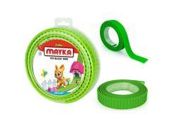 Mayka stavebnicová páska velká 2m světle zelená