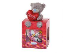 Me to you Hrneček Love s plyšovým medvídkem