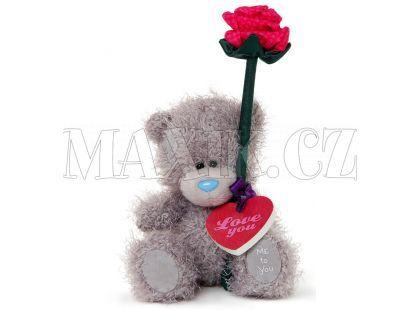 Me To You Medvídek s růží v dárkové krabičce