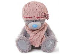 Me to you Medvídek s čepicí a šálou 30 cm