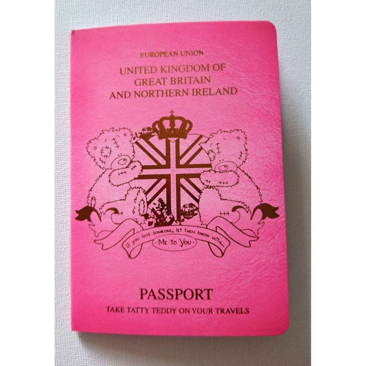 Me to you Tatty Teddy Cestovní pas