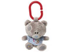 Me to you Tiny Tatty Teddy - Medvídek pískátko v modrém tričku 10 cm
