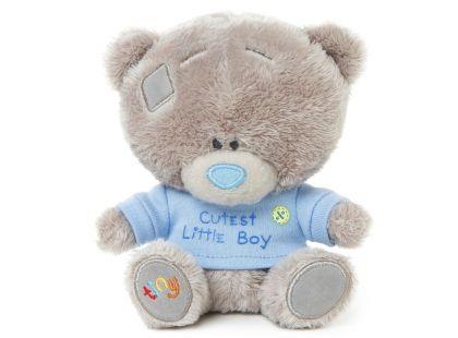 Me to you Tiny Tatty Teddy - Medvídek v modrém tričku 11,5 cm
