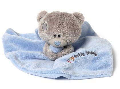 Me to you Tiny Tatty Teddy - Modrá dečka s medvídkem_II.jakost