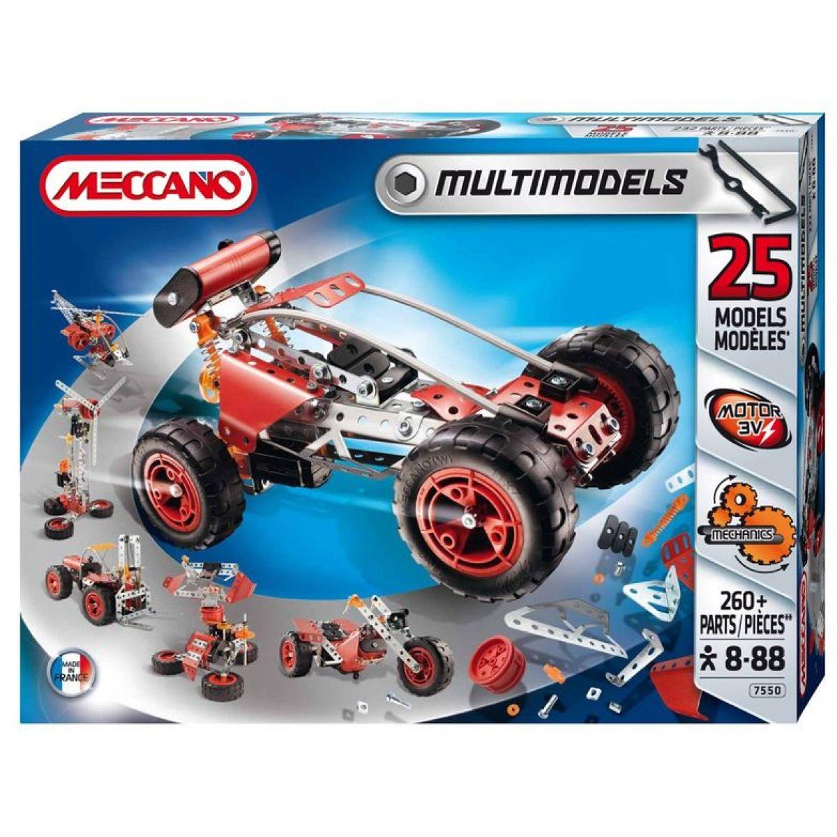 Meccano Multimodels25 643 dílů
