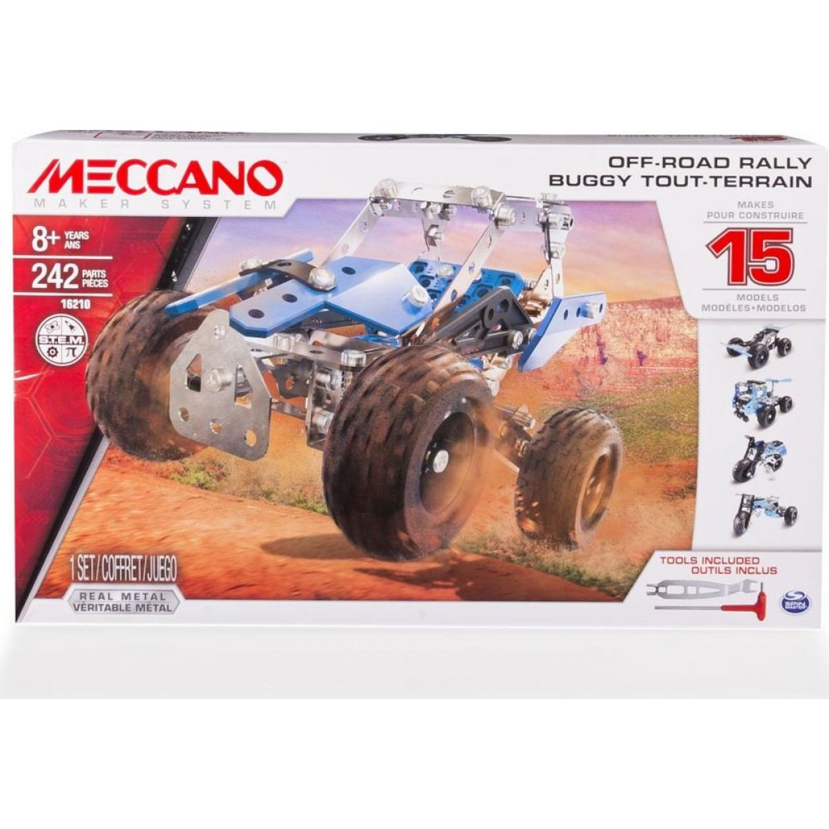 Meccano Stavebnice 15v1 Off-Road Rally