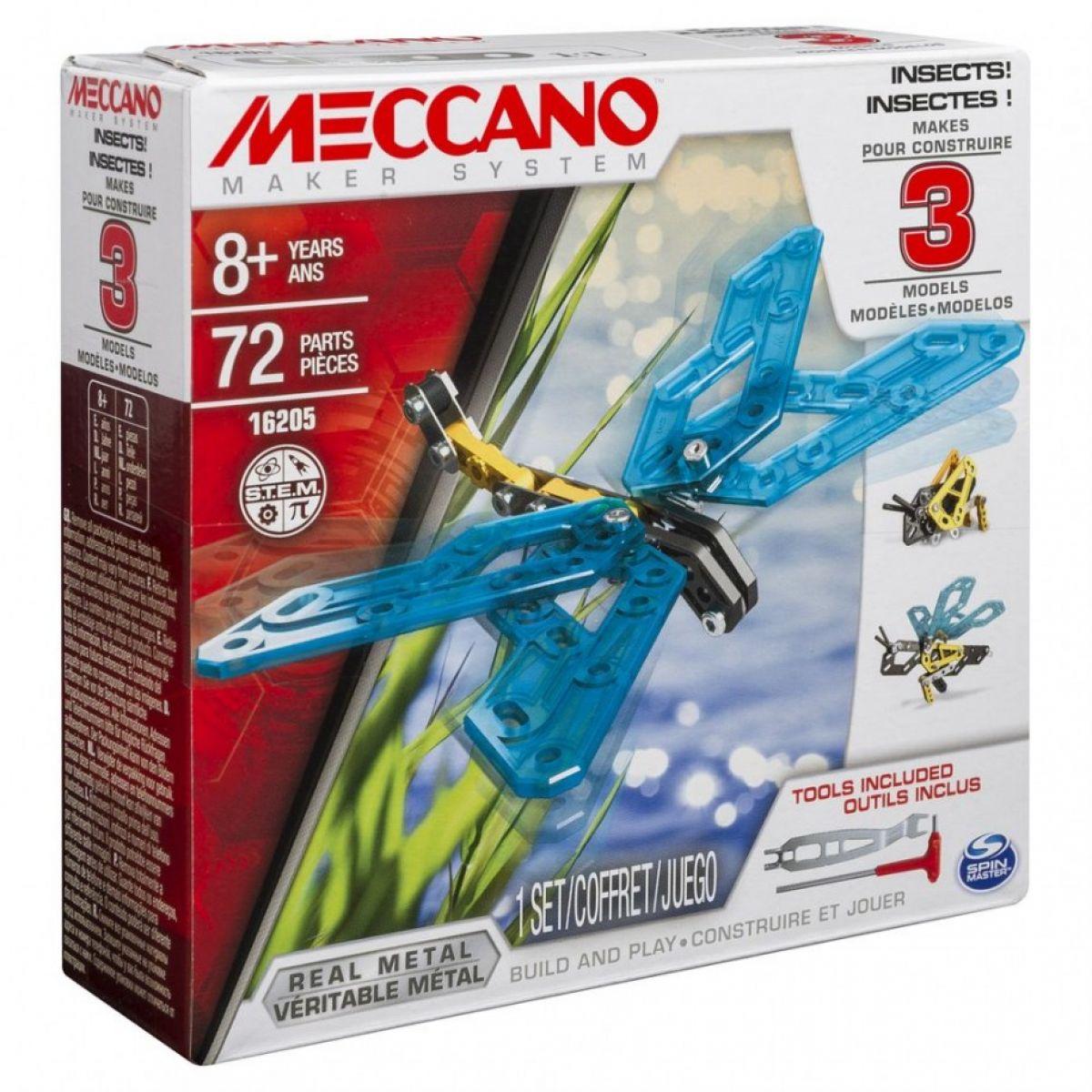 Meccano Stavebnice 3v1 Hmyz
