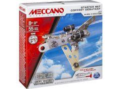 Meccano Stavebnice 4v1 Startovací set Letadlo