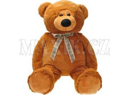 Medvěd plyš s mašlí 90cm