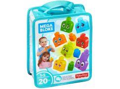 Mega Bloks First Builders kostky pro malého stavitele Obličeje
