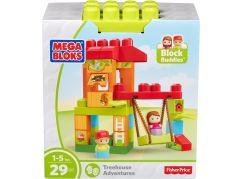 Mega Bloks herní set pojď si hrát Dům na stromě