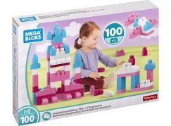 Mega Bloks stavění s fantazií 100 růžová