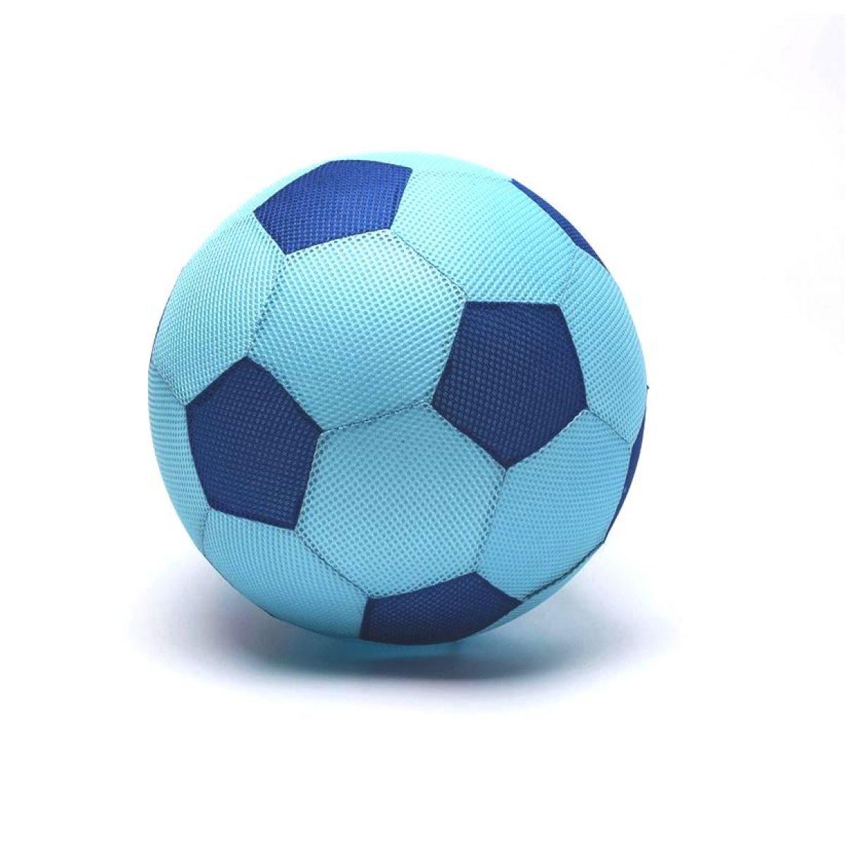 Mega míč textilní modrý