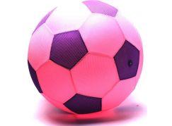 Mega míč textilní růžový