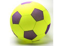 Mega míč textilní žluto-fialový