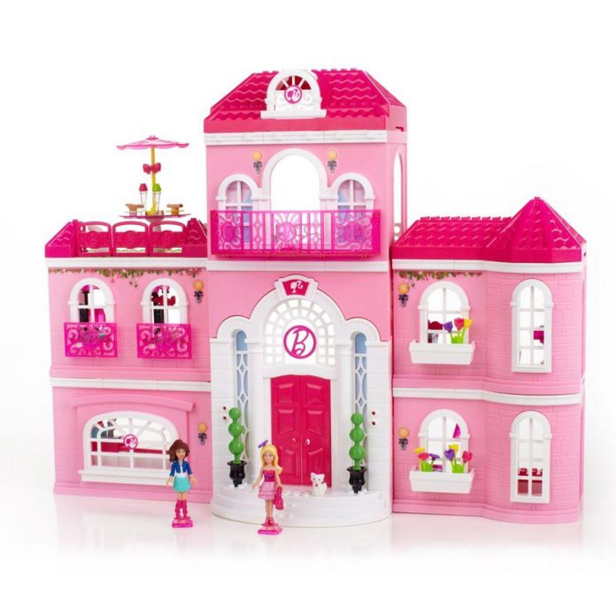Megabloks Barbie v luxusním domě 301 kostek