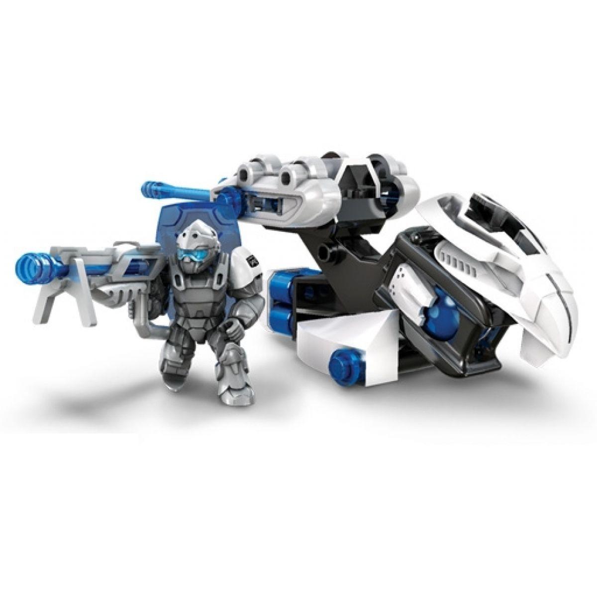 Megabloks Dračí edice Dračí vejce malé - Azure Striker
