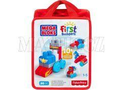 Megabloks First Builders autíčka 20ks