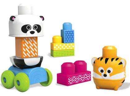 Megabloks First Builders jezdící zvířátka - Panda a Tygr