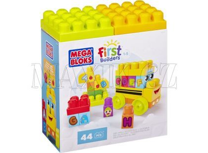 Megabloks First Builders školní ABC