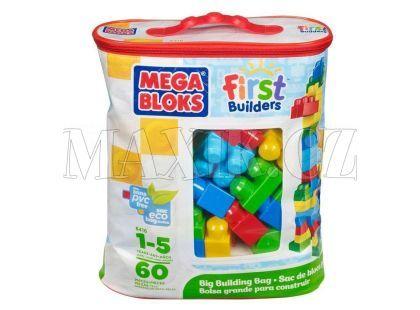 Megabloks Kostky v pytli 60 kostek - First Builders