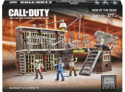 Megabloks Micro Call of Duty vězení zombíků
