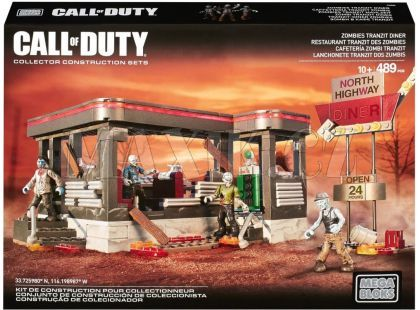 Megabloks Micro Call of Duty zombie bistro