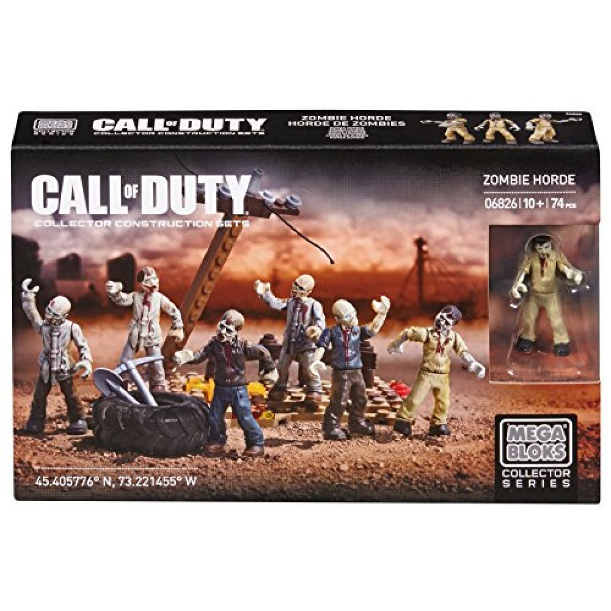 Megabloks Micro Call of Duty Zombies Horde