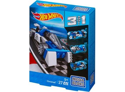 Megabloks Micro Hot Wheels 3v1 angličák - Chromad