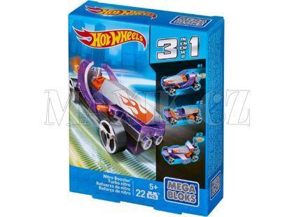 Megabloks Micro Hot Wheels 3v1 angličák - Nitro Booster